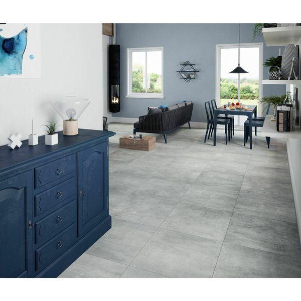 Urban Grey Matt Porcelain Floor Tile