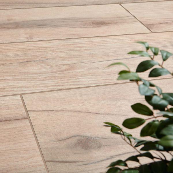 Vertige Wood Effect Beige Outdoor Slab Tiles
