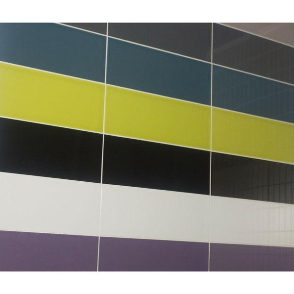 Vivid Dark Grey Gloss Wall Tiles