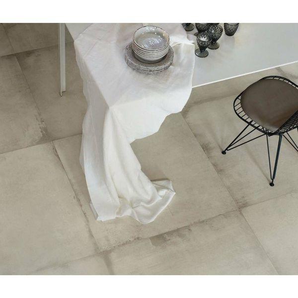 Waterfront White Matt Floor Tiles