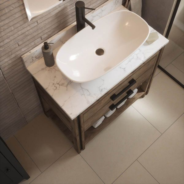 Yosemite Ivory Wall and Floor Tiles